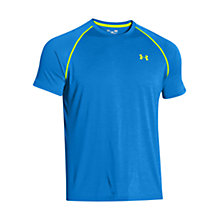 Buy Under Armour Tech Short Sleeve T-Shirt, Blue Jet Online at johnlewis.com