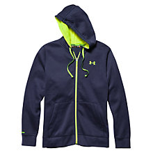 Buy Under Armour Storm Rival Full Zip Hoodie, Navy Online at johnlewis.com