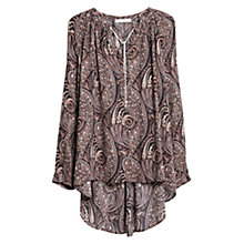 Buy Mango Paisley Print Blouse, Multi Online at johnlewis.com