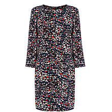 Buy Warehouse Abstract Print Dress, Multi Online at johnlewis.com