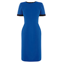 Buy Warehouse Bonded Pencil Dress, Bright Blue Online at johnlewis.com