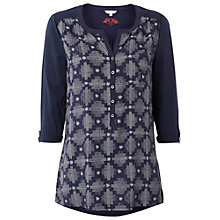 Buy White Stuff Wood Cabin Shirt, Nightshade Online at johnlewis.com