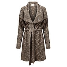 Buy East Tweed Waterfall Jacket, Slate Online at johnlewis.com