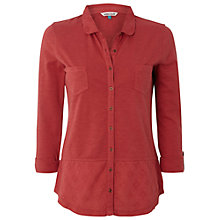 Buy White Stuff Dorethea Shirt, Roebuck Red Online at johnlewis.com