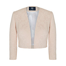 Buy Viyella Lace Bolero Jacket, Blush Online at johnlewis.com