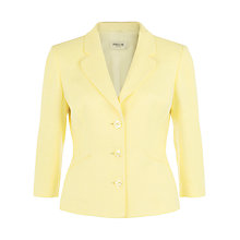 Buy Precis Petite Tweed Jacket, Lemon Online at johnlewis.com