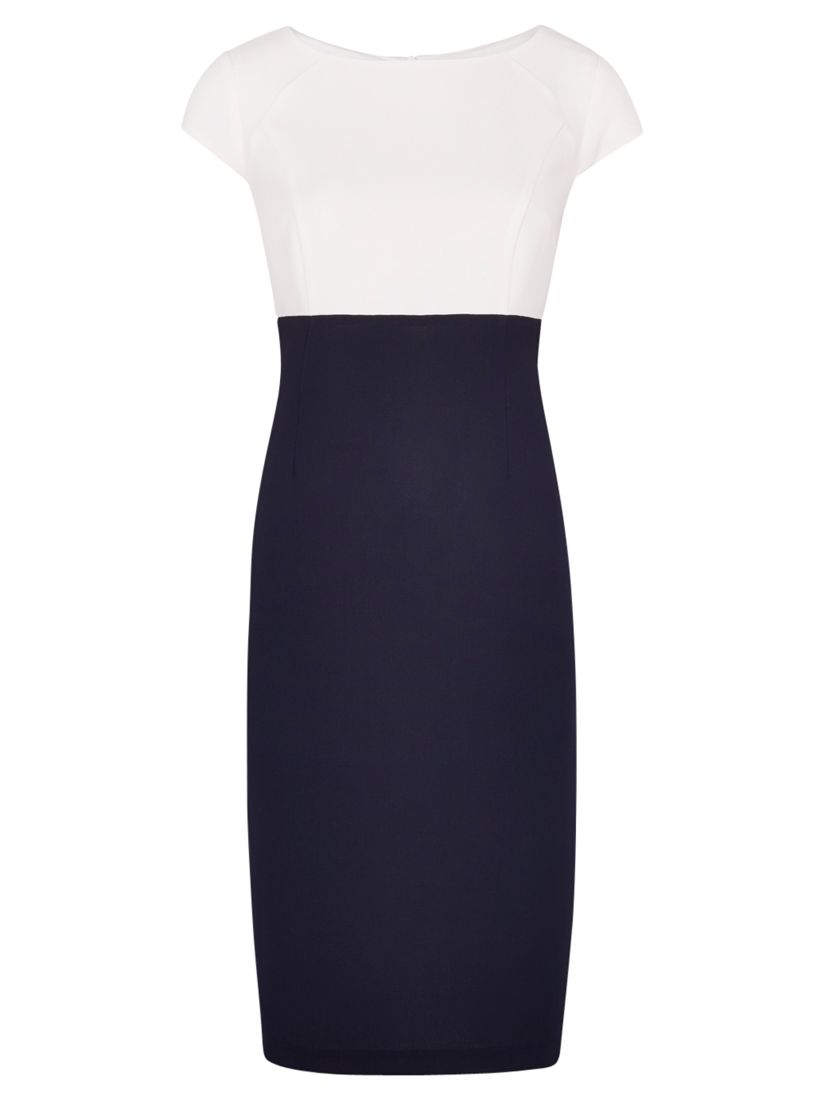 viyella colour block textured dress navy, viyella, colour, block, textured, dress, navy, 8|12|16|20|10|14|18, women, plus size, womens dresses, gifts, wedding, wedding clothing, female guests, special offers, womenswear offers, up to 30% off selected viyella, 1811627