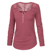 Buy Fat Face Lula Long Sleeved Henley Top Online at johnlewis.com