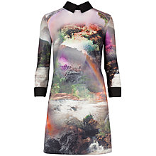 Buy Ted Baker Rainbow Waterfall Cuff Dress, Multi Online at johnlewis.com