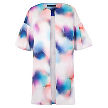 Buy French Connection Soft Spray Print Coat, Tampa Multi Online at johnlewis.com