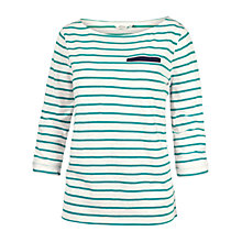 Buy Fat Face Seam Striped T-Shirt Online at johnlewis.com