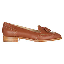 Buy Hobbs Briar Leather Loafers, Tan Online at johnlewis.com