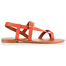 Buy Jigsaw Marina Leather Sandals Online at johnlewis.com
