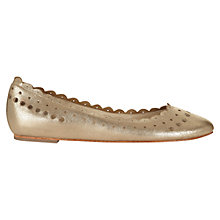 Buy Jigsaw Lucile Punch Hole Leather Pumps Online at johnlewis.com