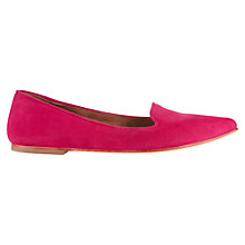 Buy Jigsaw Cecile Flat Ballerina Pumps Online at johnlewis.com