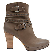 Buy Mint Velvet Dixie Nubuck Ankle Boots, Grey Online at johnlewis.com