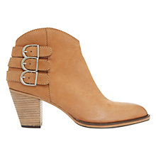 Buy Mint Velvet Stella Nubuck Ankle Boots, Camel Online at johnlewis.com