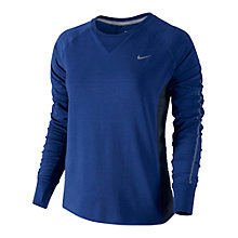 Buy Nike Dri-FIT Sprint Top, Deep Royal Blue/Obsidian Online at johnlewis.com