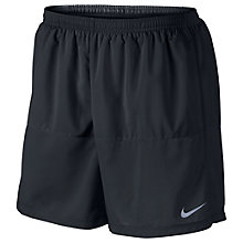 Buy Nike Distance 5'' Running Shorts, Black Online at johnlewis.com