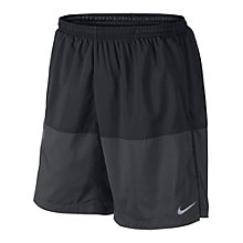 "Buy Nike 7"" Distance Shorts, Black/Anthracite Online at johnlewis.com"