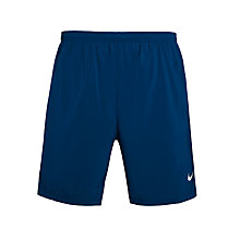 "Buy Nike 7"" Pursuit 2-in-1 Running Shorts, Blue Online at johnlewis.com"