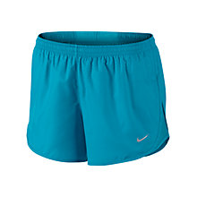 Buy Nike Tempo Printed Shorts, Blue Online at johnlewis.com