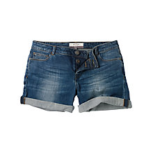 Buy Fat Face Denim Shorts, Opal Blue Online at johnlewis.com
