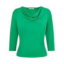 Buy Precis Petite Crepe Jersey Top, Emerald Online at johnlewis.com