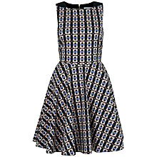 Buy Closet Triangle Cut Out Back Cotton Dress, Multi Online at johnlewis.com