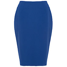 Buy French Connection Whisper Light Pencil Skirt, Maya Blue Online at johnlewis.com