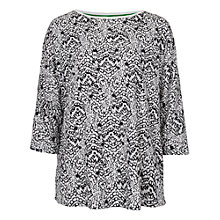 Buy French Connection Mini Leopard Moth Short Sleeved Top, Summer White Online at johnlewis.com
