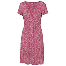 Buy Fat Face Camille Creeping Vine Dress, Rose Online at johnlewis.com