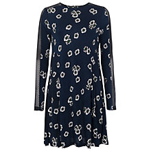 Buy French Connection Eddy Floral Dress, Nocturnal Online at johnlewis.com