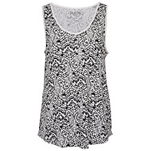 Buy French Connection Mini Leopard Moth Vest Top, Summer White Multi Online at johnlewis.com