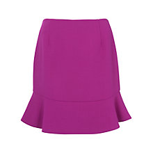 Buy French Connection Whisper Light Fluted Hem Skirt, South Beach Online at johnlewis.com
