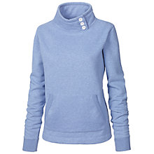 Buy Fat Face Original Funnel Neck Jumper, Chambray Online at johnlewis.com