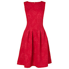 Buy Phase Eight Roberta Jacquard Dress, Geranium Online at johnlewis.com