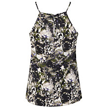 Buy Miss Selfridge High Neck Strappy Cami, Multi Online at johnlewis.com