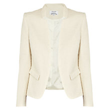 Buy Helene For Denim Wardrobe Tailored Jacket, Cream Online at johnlewis.com