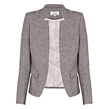 Buy Helene For Denim Wardrobe Tailored Jacket, Pink/Black Online at johnlewis.com