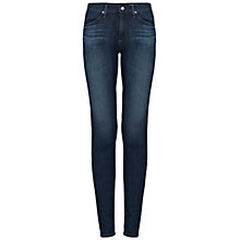 Buy AG The Farrah Skinny Jean, Tide Pool Online at johnlewis.com