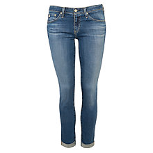Buy AG The Stilt Roll Up Cigarette Jean, 13 Years Solitude Online at johnlewis.com