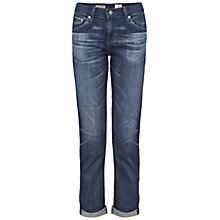 Buy AG The Ex Boyfriend Slim Cropped Jean, 9 Years Derive Online at johnlewis.com
