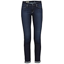 Buy AG The Stilt Roll Up Cropped Jean, Hidden Cove Online at johnlewis.com