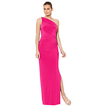 Buy Lauren Ralph Lauren Chana Dress, Venetian Rose Online at johnlewis.com