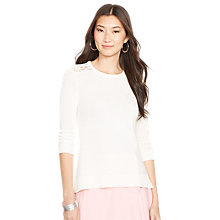 Buy Lauren Ralph Lauren Knit Jumper Online at johnlewis.com