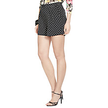 Buy Lauren Ralph Lauren Floral Shorts, Black Online at johnlewis.com