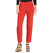 Buy Lauren Ralph Lauren Slim Trousers, Morocco Red Online at johnlewis.com