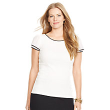 Buy Lauren Ralph Lauren Benny Top, Spring White Online at johnlewis.com