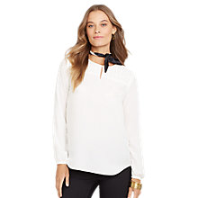 Buy Lauren Ralph Lauren Blouse, Pearl Online at johnlewis.com